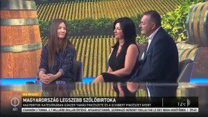 Magyarország Legszebb Szőlőbirtokai az M1 műsorán